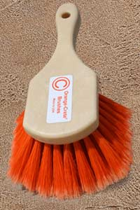 8 inch roound Orange-crete hand brush